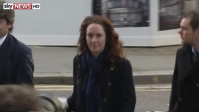 News video: Rebekah Brooks was repeatedly asked about the extent of phone hacking