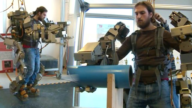 News video: Italian 'Wearable Robot' is Like an Aliens-Style Power Loader