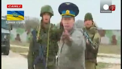 News video: Tensions persist in Crimea as Ukrainian troops challenge Russians