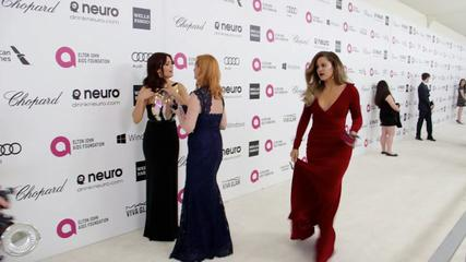News video: Red Carpet Roundup - We Hit the Oscars After-Party to Talk with Celebs About Lupita's Big Win...